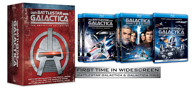 Battlestar Galactica: The Complete Series - Definitive Edition (Blu-ray Disc)