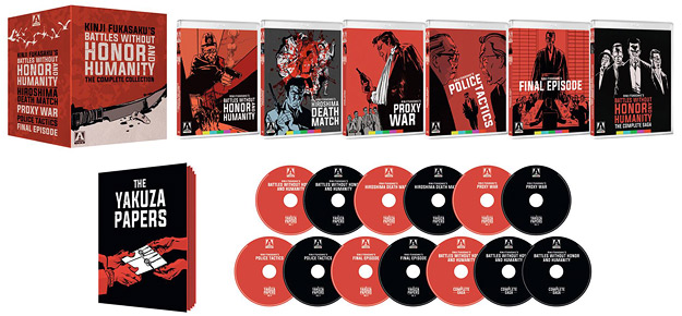 Battles Without Honor & Humanity (Blu-ray/DVD Box Set)