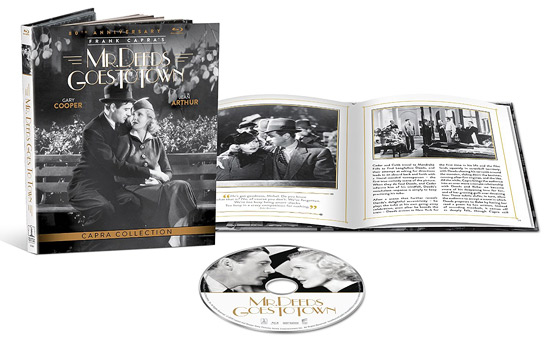 Mr. Deeds Goes to Town: 80th Anniversary Edition (Blu-ray Disc)