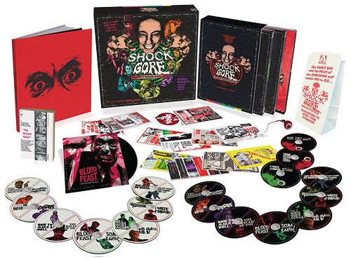 Shock and Gore: The Films of Herschell Gordon Lewis Limited Edition