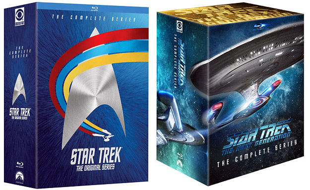 Star Trek TV Blu-ray Mega Packs