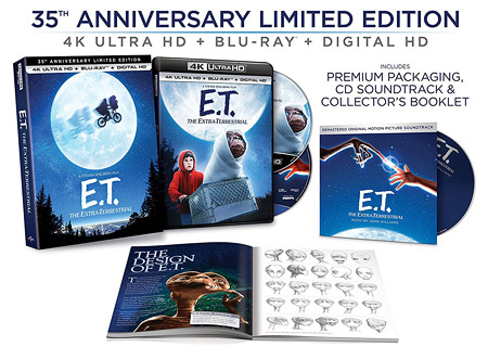 E.T. The Extra-Terrestrial: Limited Edition (4K Ultra HD Blu-ray)