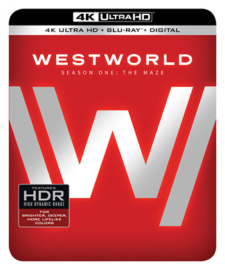 Westworld - Season One: The Maze (4K Ultra HD Blu-ray)