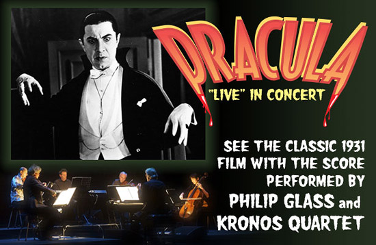 Dracula (1931) with Philip Glass and the Kronos Quartet