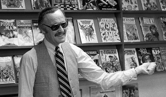 Stan Lee RIP - photo by William E. Sauro/The New York Times