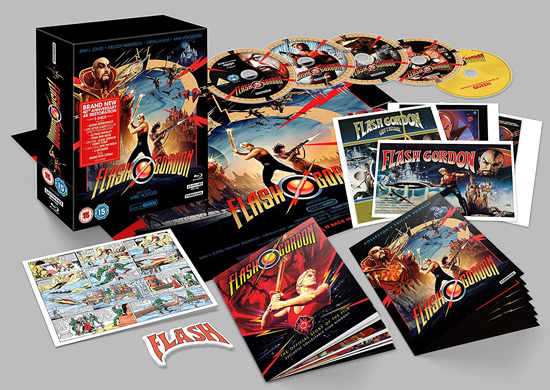 Flash Gordon (UK 4K Ultra HD)