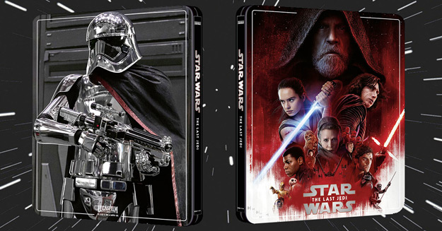 Star Wars: The Last Jedi (4K Ultra HD Steelbook - Zavvi exclusive)