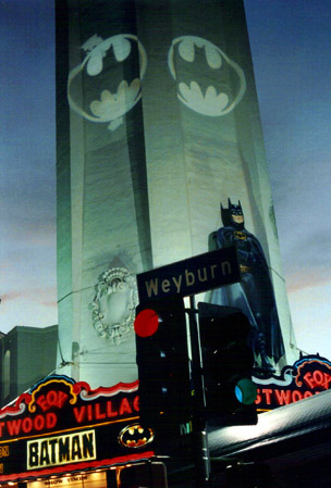 Batman Westwood Village (photo by Bill Gabel)