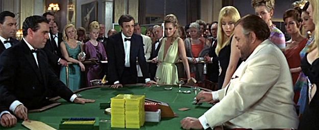 A scene from Casino Royale (1967).