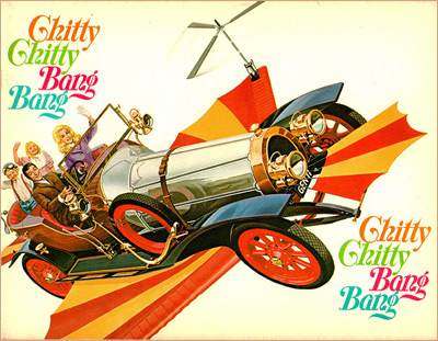 Chitty Chitty Bang Bang roadshow program