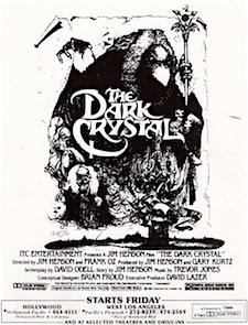 Dark Crystal newspaper ad