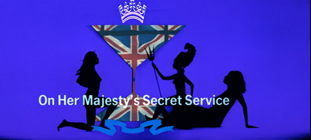 On Her Majesty's Secret Service title sequence