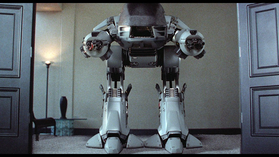 A scene from RoboCop