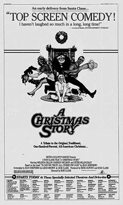 A Christmas Story newspaper ad