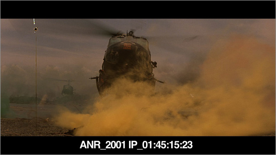 Screenshot from the 2001 I.P. of Apocalypse Now Redux