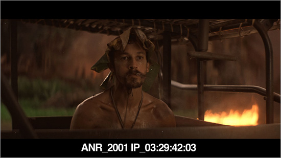 Screen shot of the 2001 I.P. of Apocalypse Now Redux