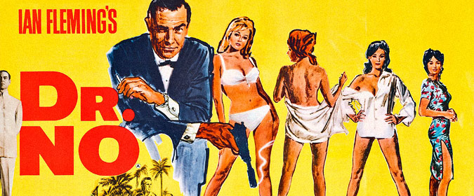 Michael Coate celebrates the 55th anniversary of the Bond film that started it all... Dr. No!