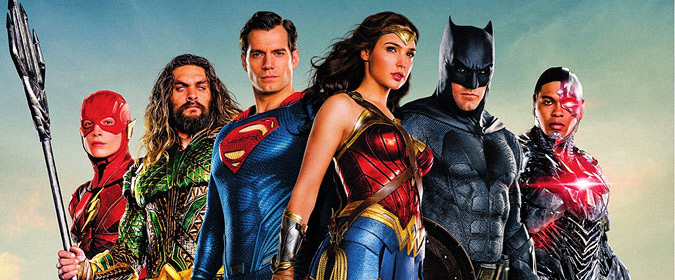 Bill reviews Justice League in 4K Ultra HD from Warner Bros. Home Entertainment and DC