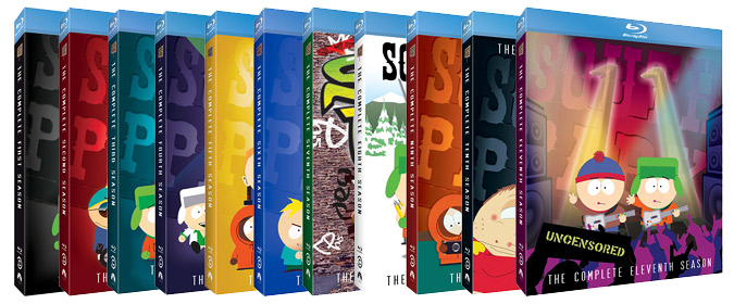 Check out our reviews of Paramount & Comedy Central's new South Park: Seasons 1-5 Blu-ray box sets!