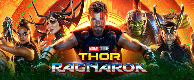 Bill reviews Disney & Marvel's Thor: Ragnarok on 4K Ultra HD, the Flash Gordon of the Marvel Cinematic Universe