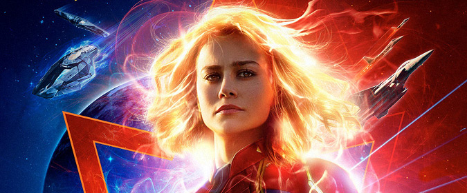 Disney and Marvel's make Captain Marvel official for Blu-ray, DVD, and 4K Ultra HD release on 6/11
