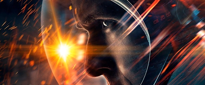 A Digital Bits film review of Damien Chazelle's Neil Armstrong biopic First Man (2018)