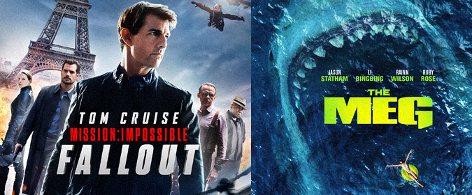 Mission: Impossible – Fallout due on BD/4K on 12/4, plus Warner's The Meg set for BD/4K on 11/13