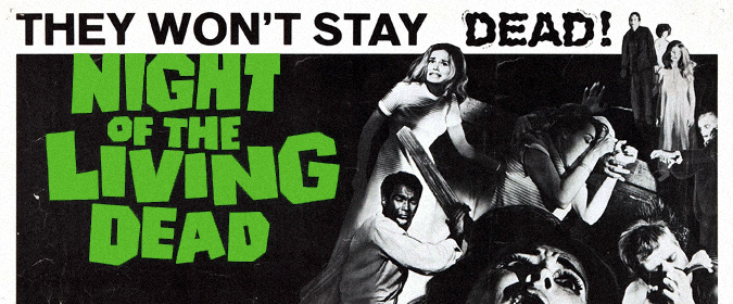 Michael Coate looks back at George A Romero's original Night of the Living Dead in honor of its 50th anniversary