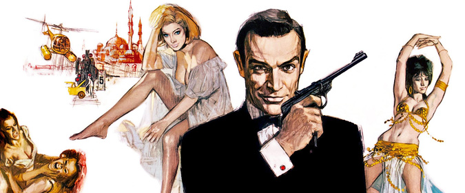 Michael Coate celebrates the 55th anniversary of the Bond classic From Russia with Love!