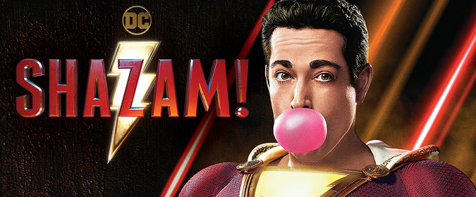 Warner and DC set Shazam! for Blu-ray, DVD, and 4K Ultra HD on 7/16