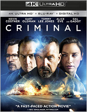 Criminal (4K Ultra HD Blu-ray Disc)