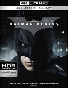 Batman Begins (4K Ultra HD Blu-ray)