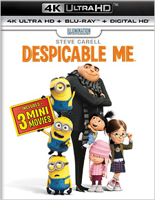 Despicable Me (4K Ultra HD Blu-ray)