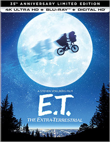 E.T. The Extra-Terrestrial: 35th Anniversary Edition (4K Ultra HD Blu-ray)