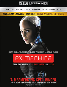 Ex Machina (4K Ultra HD Blu-ray)