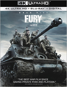 Fury (4K Ultra HD Blu-ray)