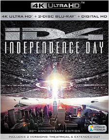 Independence Day: 20th Anniversary Edition (4K Ultra HD Blu-ray)