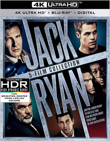 The Jack Ryan 5-FIlm Collection (4K Ultra HD)