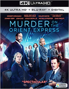 Murder on the Orient Express (4K Ultra HD)