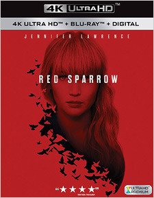 Red Sparrow (4K Ultra HD)