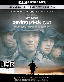 Saving Private Ryan: 20th Anniversary Edition (4K Ultra HD Blu-ray)