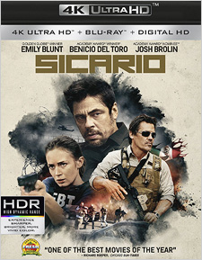 Sicario (4K Ultra HD Blu-ray Disc)