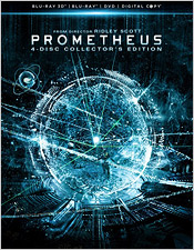 Prometheus: 4-Disc Collector's Edition (Blu-ray Disc)