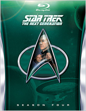Star Trek: The Next Generation - Season Four (Blu-ray Disc)