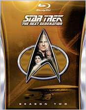 Star Trek: The Next Generation - Season Two (Blu-ray Disc)