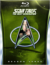 Star Trek: The Next Generation - Season Three (Blu-ray Disc)