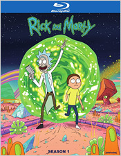 Rick and Morty: Season One (Blu-ray Disc)