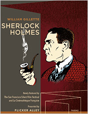 William Gillettes's Sherlock Holmes (Blu-ray Disc)