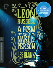 Leon Russell: A Poem Is a Naked Person (Criterion Blu-ray Disc)