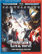 Captain America: Civil War (Blu-ray 3D)